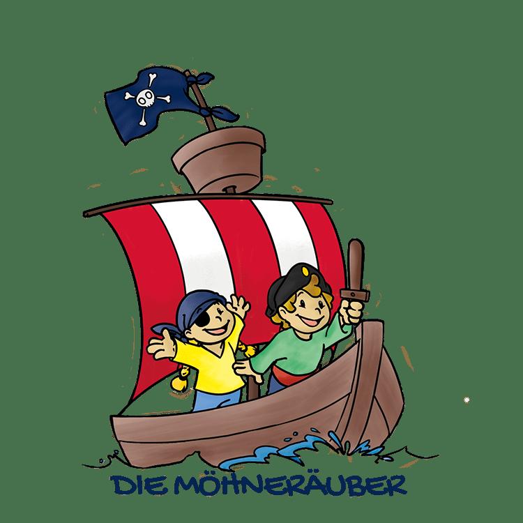 Bild: Elterninitiative Kindergaerten Ense e.V. - Die Möhneräuber Logo