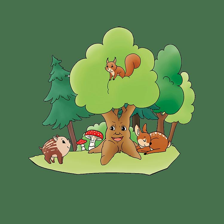 Bild: Bild: Elterninitiative Kindergaerten Ense e.V. - Im Zauberwald Logo